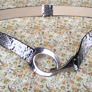 Python Print Leather Belt